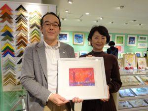 横山真弥さんの作品展に行ってきました。